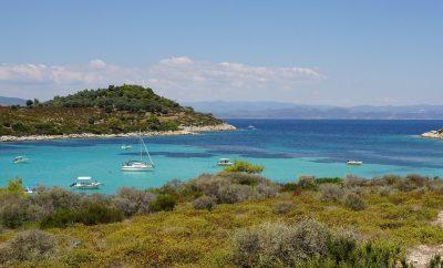 Wyspa Chalkidiki w Grecji