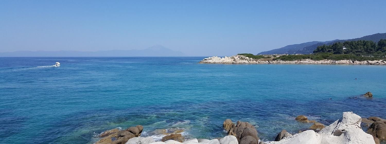 Grecka wyspa Chalkidiki