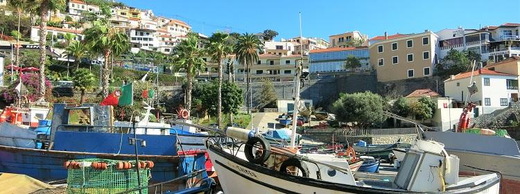 Jachty na Wyspie Madera