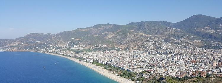 Turecka miejscowość Alanya